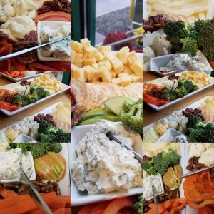 Custom cheese trays from Kent Cheesemonger